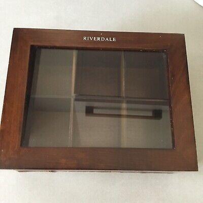 Riverdale. Caja De Te De Madera. Tea Box 10