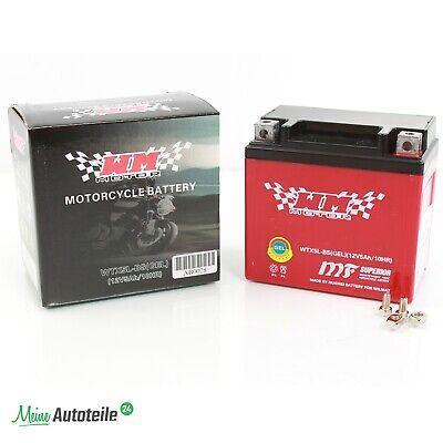 Batterie 12N5-3B 12V 5Ah Motorrad Quad Motorroller 12 V 5 Ah 12 Volt Suzuki