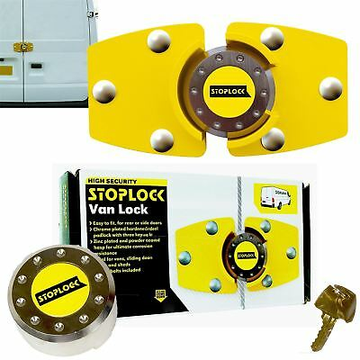 Stoplock for Peugeot Boxer High Security Anti-Theft Van Rear Door Lock + 3 Keys 7