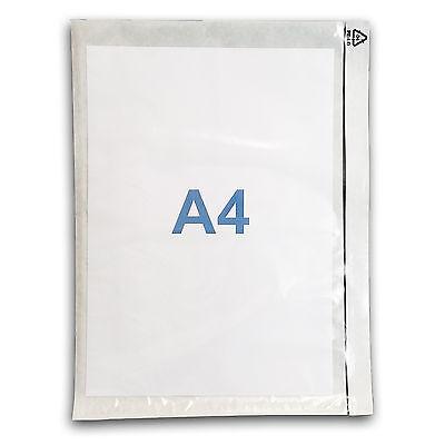 500 Pochettes Porte-document A4 adhésives transparentes 3