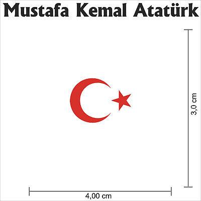 Unterschrift,Türkiye,Kennzeichenhalterung,Mustafa Kemal !! 2 Stk !Atatürk imza