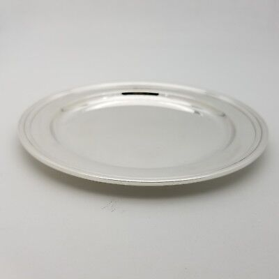 Tiffany & Co. Makers Sterling Silver ~5.5'In Cookie Saucer Bread Charger Plate 2
