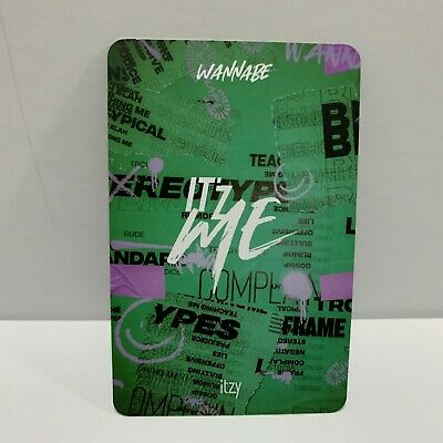 ITZY Official PHOTOCARD Only 2nd Mini Album IT'z ME Photo Card Select Option 8
