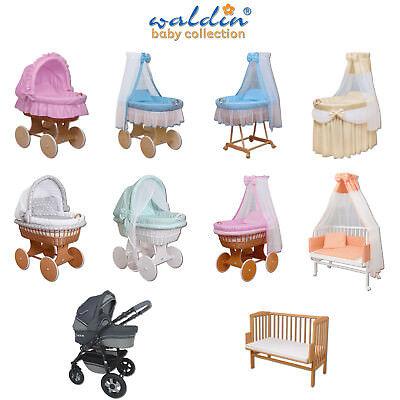 Waldin Baby Passeggino,Culla per Neonato,Completo con Accessori