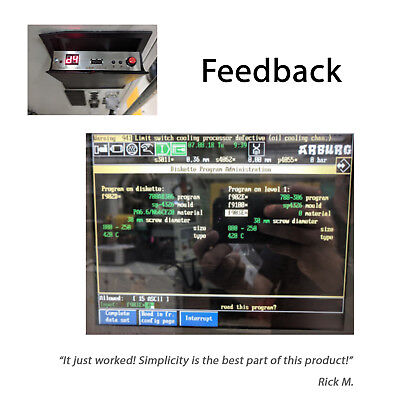 !USB Floppy Drive Emulator N-Drive Industrial for Arburg Selogica Control System 2
