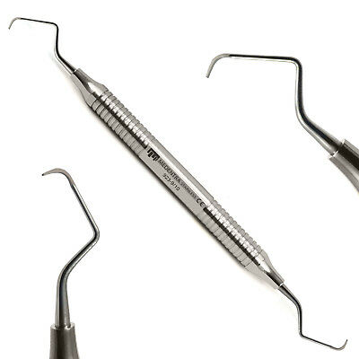 Medentra® Root Canal Gracey Curettes Set of 7 Periodontal Surgical Bone Curette 9