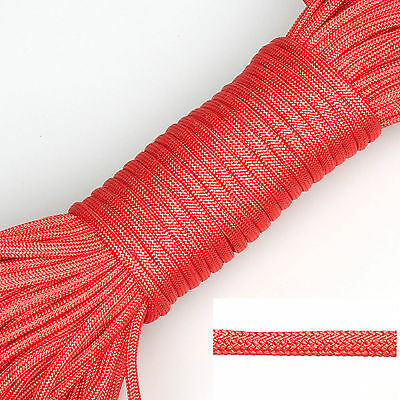 550 Paracord Parachute Cord Lanyard Spec Type 7 Strand Core Rope 20 50 100 300ft 8