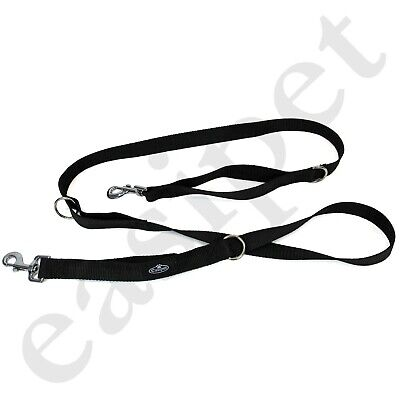 Dog Lead Police Style Leash Multi-Function Double Ended Obedience Training 4