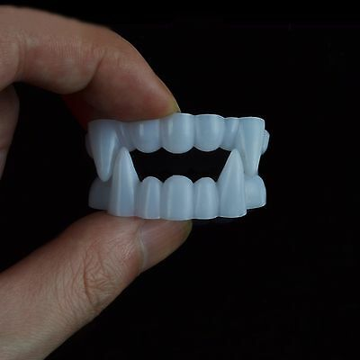 1 of 5free shipping set of 30x horrible scary halloween vampire werewolf teeth costume plastic fangs