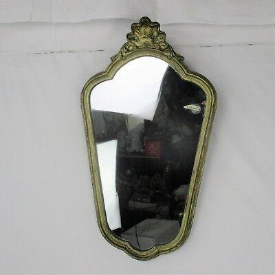 Ornate Mirror  Wood Gold Gilded Ornate Gilt-wood DeKnudt Rococo style 4