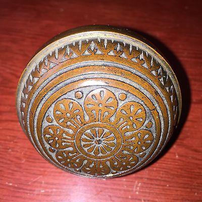 Antique  Collectible Vernacular Eastlake Bronze Doorknob  Hardware 1880s #1 5