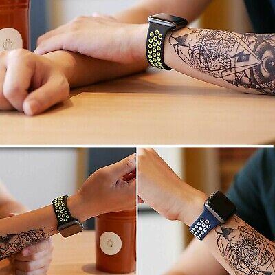 Cinturino Silicone Compatibile Per Apple Watch Nike Serie 1-2-3-4 38 40 42 44 Mm 5