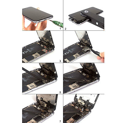 For iPhone 7 6 6s Plus 6 LCD Display Complete Screen Replacement Home Button 6