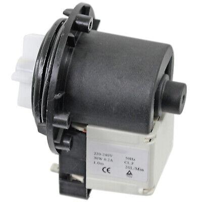 240V // 50Hz, 30W, Rear TAB Terminals SPARES2GO Drain Pump for AEG Washing Machine