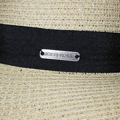 Cappello elegante cerimonia falda fascinator piume veletta nero rosa blu D0596 6