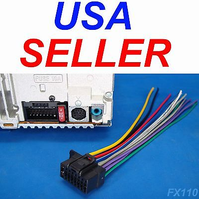 16 Pin Auto Stereo Wiring Harness Plug for Sony MEX-M70BT