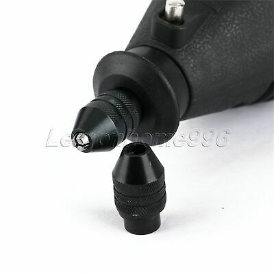 Quick Change Multi Chuck Keyless for Grinder Rotary Tools 0.5mm-3.2mm Swaps HQ 8