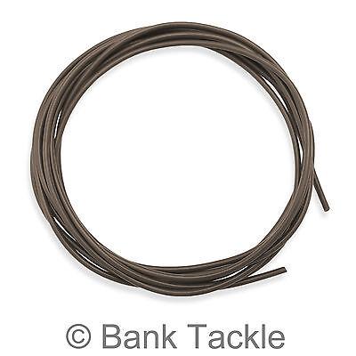 4metres Tungsten Rig Tubing Anti Tangle Super Heavy Carp Tackle Silt black x2
