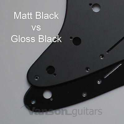 Scratchplate Pickguard DIRECT FIT for USA, MEX Fender® Stratocaster® Strat®* SSS 4
