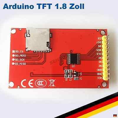 1,8 Zoll TFT LCD Display Modul 128x160 SPI SD ST7735 Arduino Raspberry Pi