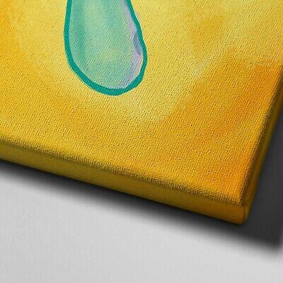 "11X14"" Gallery Art Canvas: Bold And Brash Framed Painting Squidward Spongebob 4"