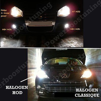 Lot 2 Ampoule Plasma Hod H7 100W Lampe Halogene Effet Xenon Gaz Blanche 6000K 12 2