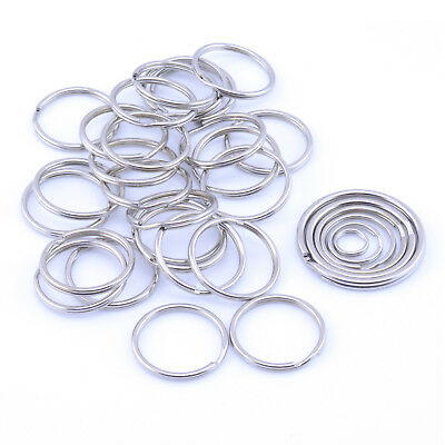 Pack Size 10 to 1000 15mm 20mm 25mm 30mm 35mm Split Rings Key Ring keyring