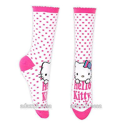 Ragazze Hello Kitty Caviglia Di Carattere Calze - Misura Opzioni Disponibili 3