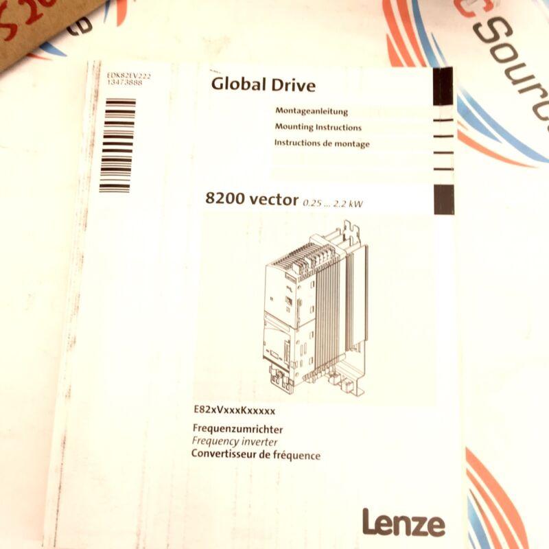 Lenze E82Ev222K4C  Frequency Inverter 5