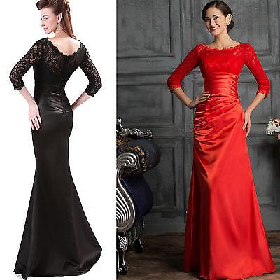 Kleid rot lang