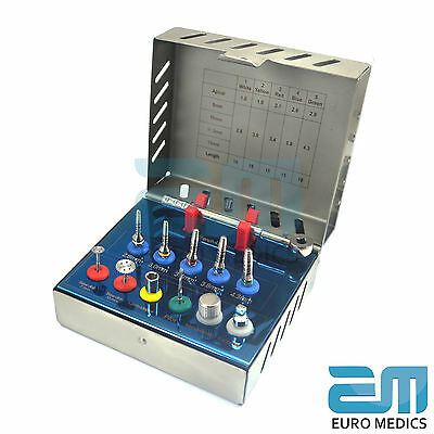 Dental Implant Bone Expander Kit Sinus Lift With Saw Disks Surgical Instruments 3