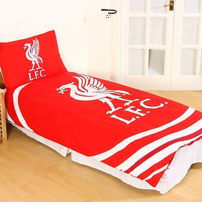 Liverpool Fc Pulse Single Duvet Cover Set Reversible Football Bedding 3