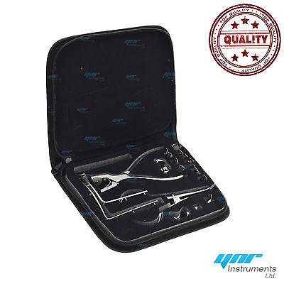 Kit pour digue dentaire forceps caoutchouc pince Ainsworth serrage cadre CE