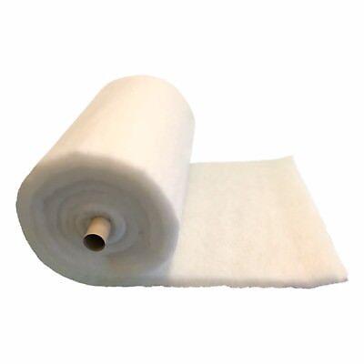 Aquarium Pond Filter Wool Floss Rolls - All Thicknesses Lengths Koi Fish Tank 2