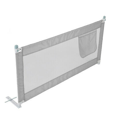 180CM Bed Safety Guards Folding Child Toddler Bed Rail Safety Protection New 8