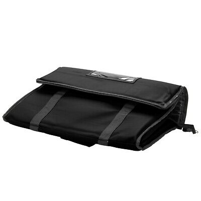TWO Insulated BLACK Catering Delivery Food Full Pan Carrier Hot Cold Cooler Bag 6