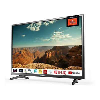 "Blaupunkt 32"" Inch HD Ready LED Smart TV with JBL Speakers and Freeview Play HD 2"