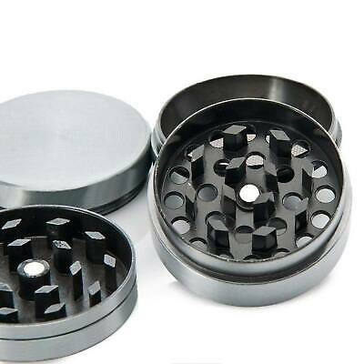 4 Piece Herb Grinder Spice Tobacco Smoke Zinc Alloy Crusher Leaf Design 7