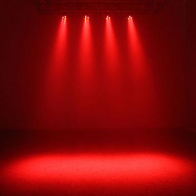 Complete Professional 4-Par Stage LED Lights DJ Band DMX System & Stand MU-L31A 9