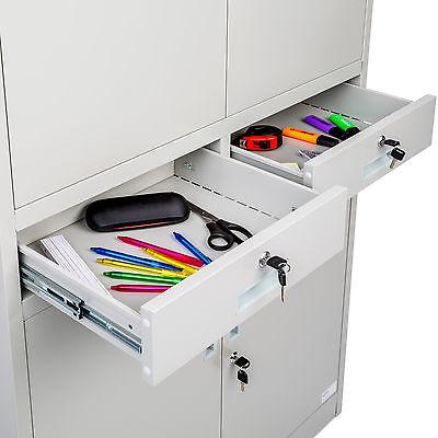 Aktenschrank Büroschrank Archiv Universal Schrank Stahlschrank Materialschrank s