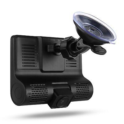 "1080P 4""Car DVR Dual Lens Dash Cam Front and G-sensor Rear Video Recorder Camera 11"
