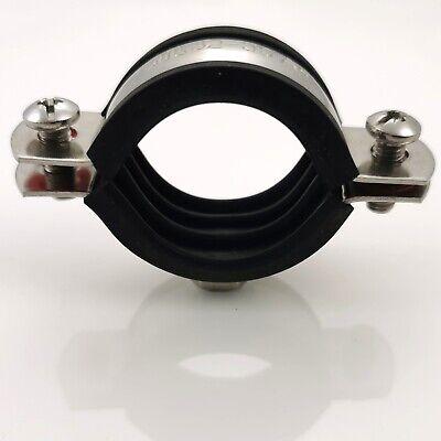Rohrschellen 12-114 mm Schraubrohrschellen Gelenkrohrschelle Stockschraube Dübel