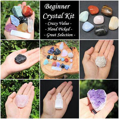 20 pcs Beginners Crystal Kit - Chakra Protection Healing Sets - Crystal Gift 2