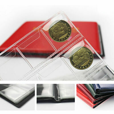 240 Coin Collection Album Money Storage Case Holder Coin Collecting Book UK 2