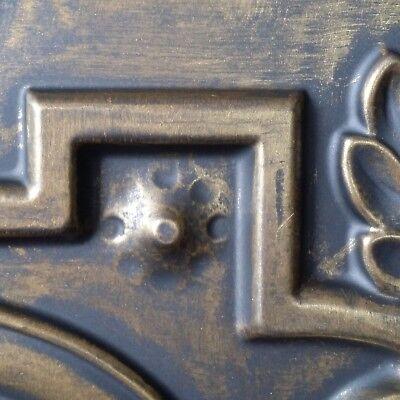 Ceiling tiles Faux tin ancient gold public house decor wall panel PL15 10pcs/lot