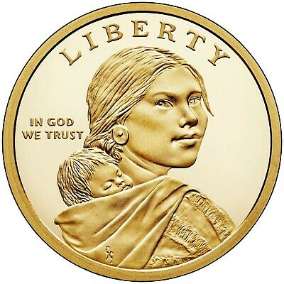 2019 S,P,D Native American Proof $1 Sacagewea  Mary Golda Ross Update Set All 3 2