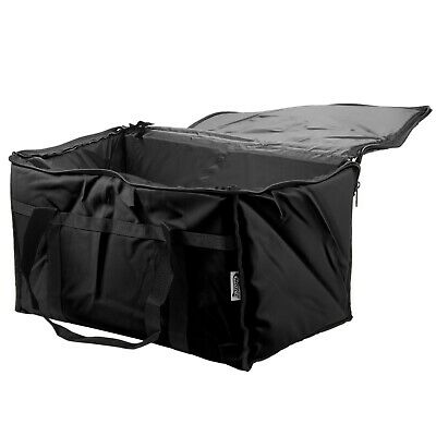 TWO Insulated BLACK Catering Delivery Food Full Pan Carrier Hot Cold Cooler Bag 3