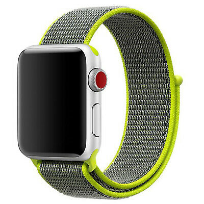 Nylon Woven Sport Loop Band Strap For Apple Watch iWatch Series 4/3/2/1 38/42mm 10