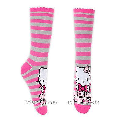 Ragazze Hello Kitty Caviglia Di Carattere Calze - Misura Opzioni Disponibili 6