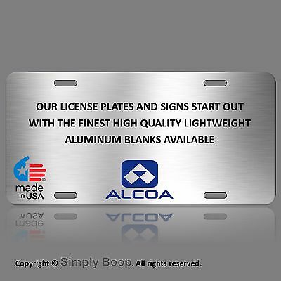 Germany European EEC Aluminum License Plate Custom Personalized with your Text 2